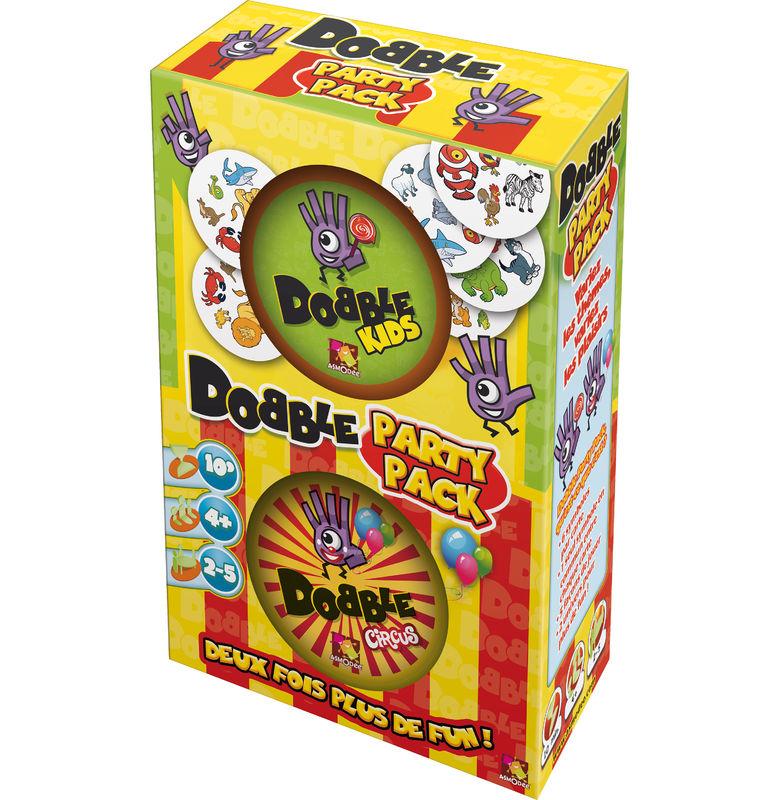 Dobble Party Pack : Dobble Kids & Dobble Circus Sans marque  Magasin de Jouets